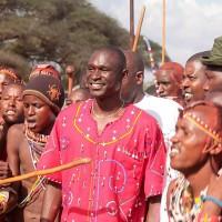 Maasai Olympics patron, David Rudisha