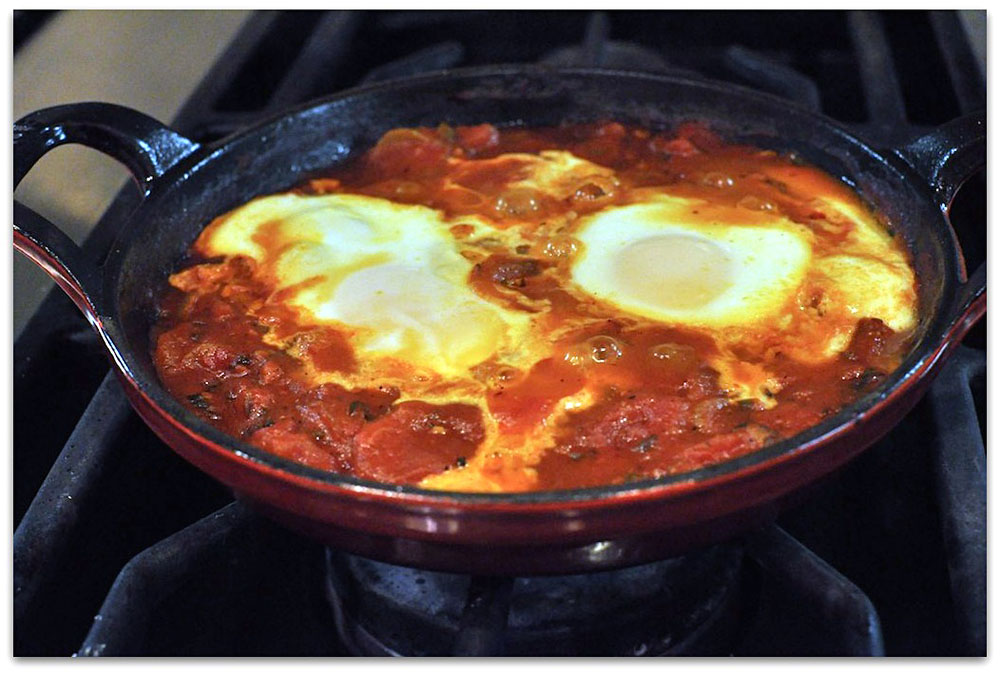 Shakshuka - Breakfast Dish from Israel