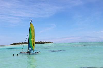 Active Cook Islands - Experience a Hobbie Cat