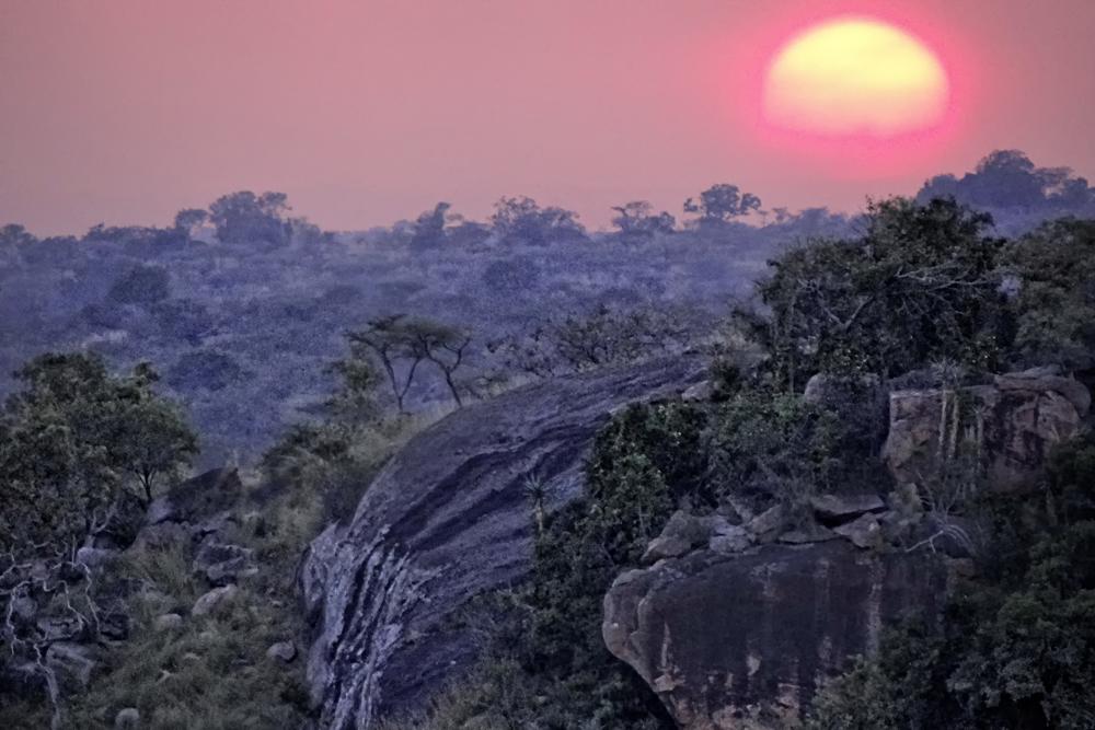 Landscape in Serengeti Migration Camp, Tanzania