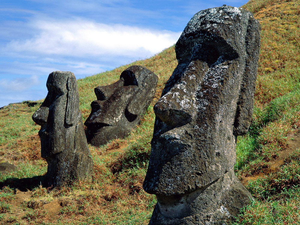 Easter Island Moais, Chile