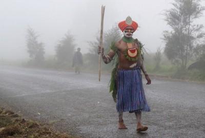 Papua New Guinea - Hagen_man