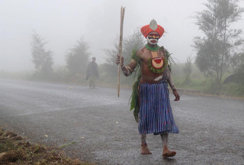 Hagen man, Papua New Guinea