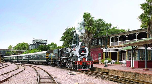 Rovos train arrival