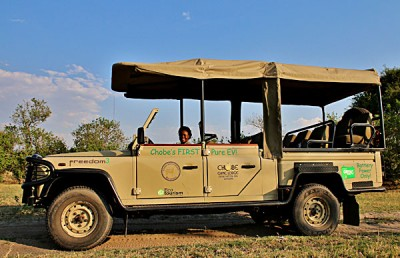 Chobes Angels - Battery Powered Safari Vehicle, Botswana