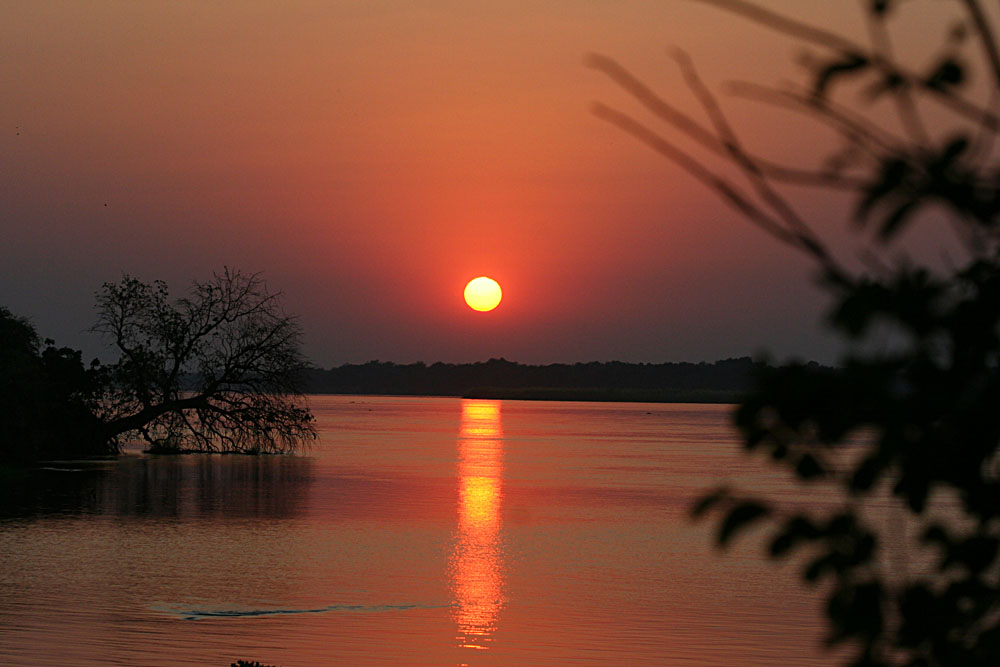 Spectacular Zambian sunset