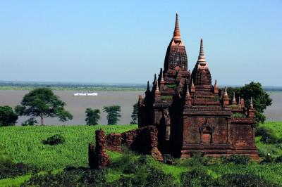 Temples of Bagan and Road to Mandalay ship