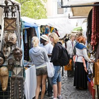 Shopping in Green Market Square