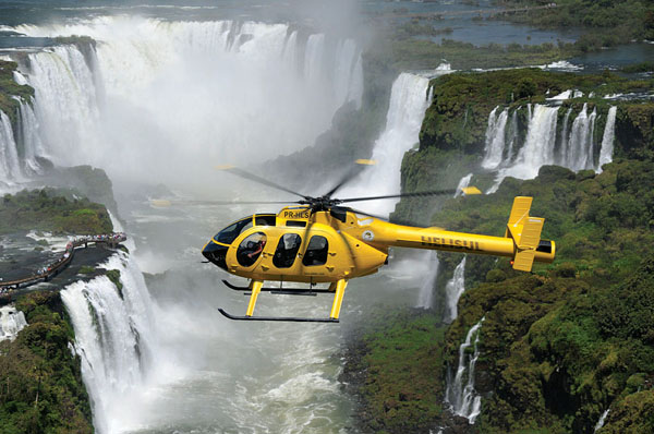 Iguassu Falls helicopter tour