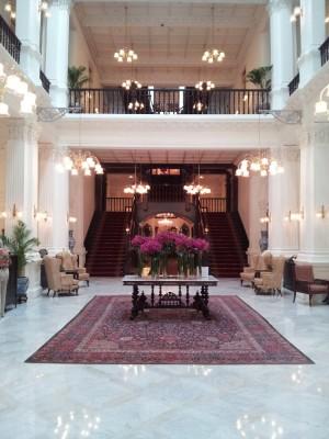 Raffles Hotel Lobby, Singapore