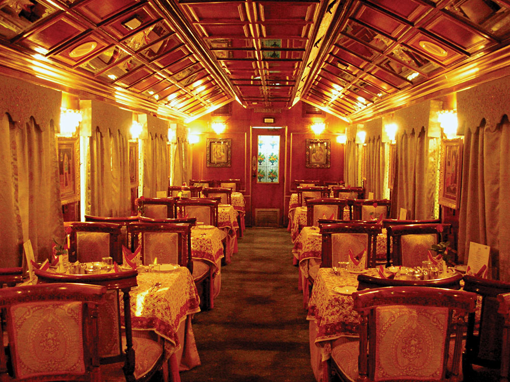 Rail - Palace On Wheels - Dining Rm