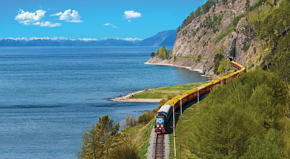 Trans Siberian Railroad Tsar's Gold train, Russia