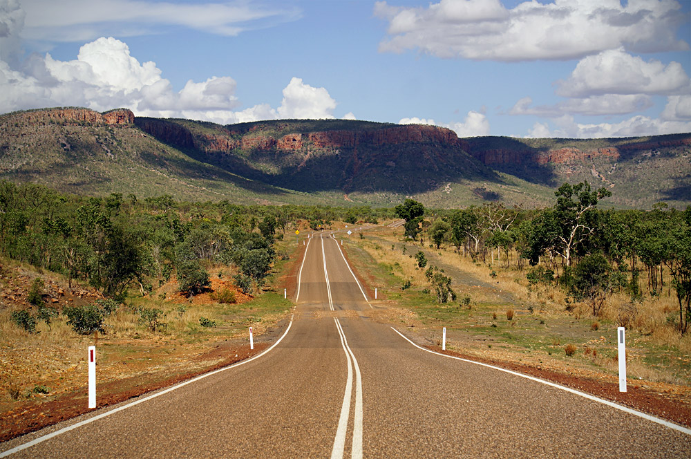 Crossing Remote and Pristine Wilderness in the Famous and Rugged Gibb River Road in the Kimberley, Western Australia