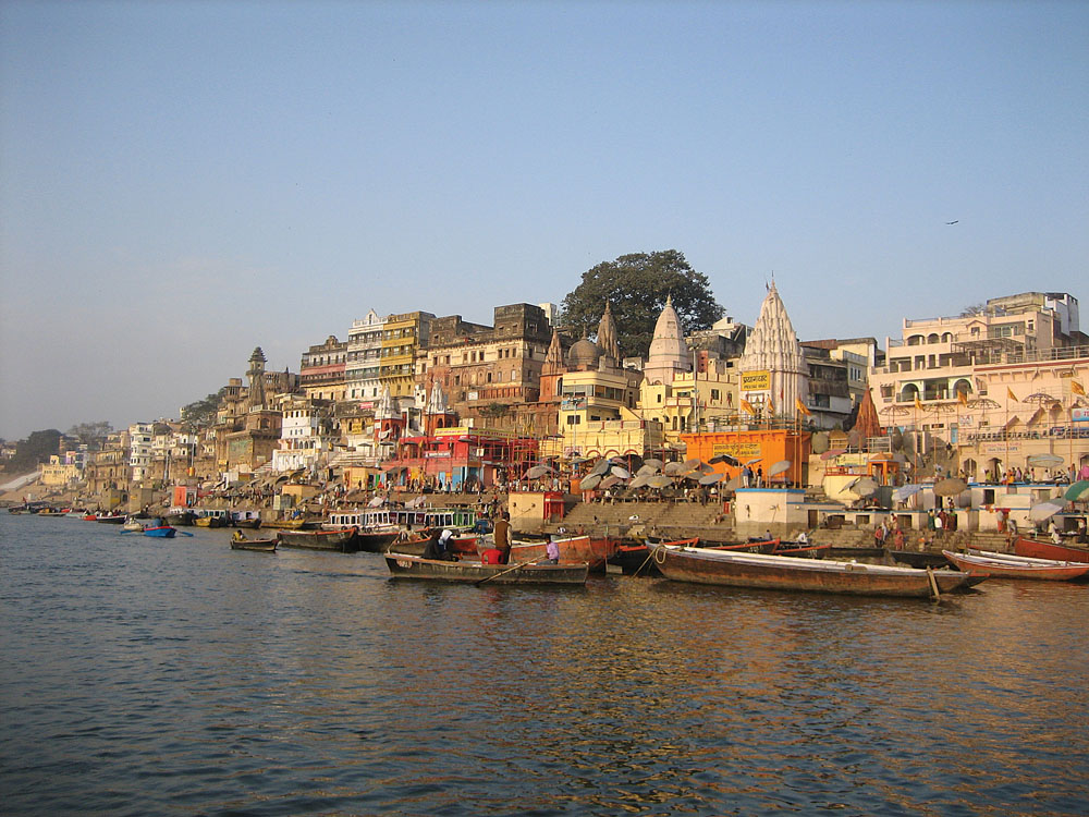 Holy River Ganges, Varanasi, India