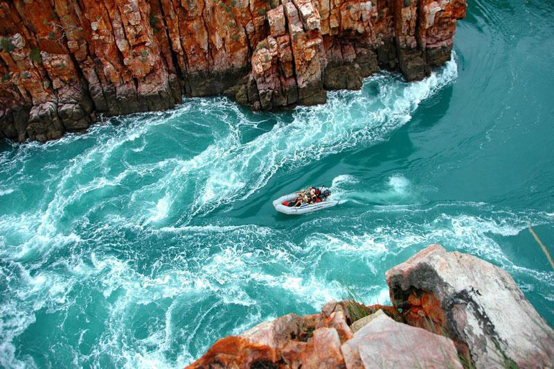 Horizontal Waterfalls - Coral Princess Kimberley Cruise, Western Australia