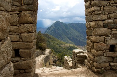 Sun Gate at Machu Picchu