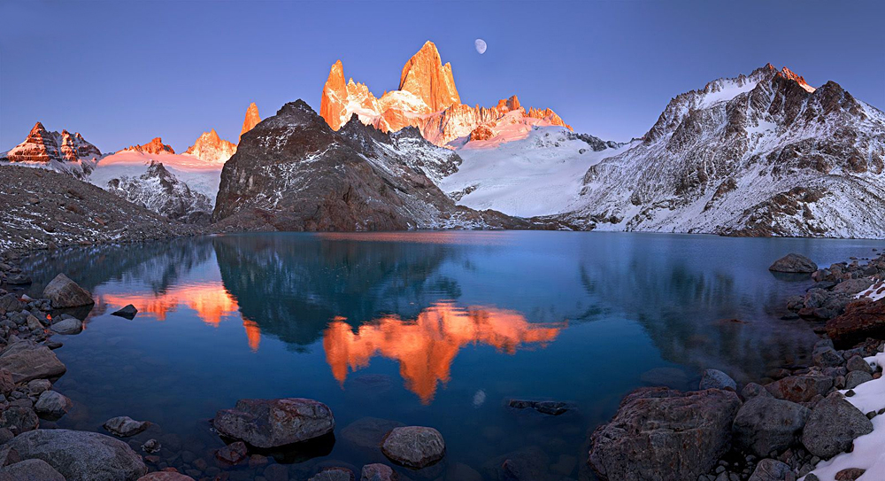 Torres del Paine National Park at Night, Patagonia, Chile