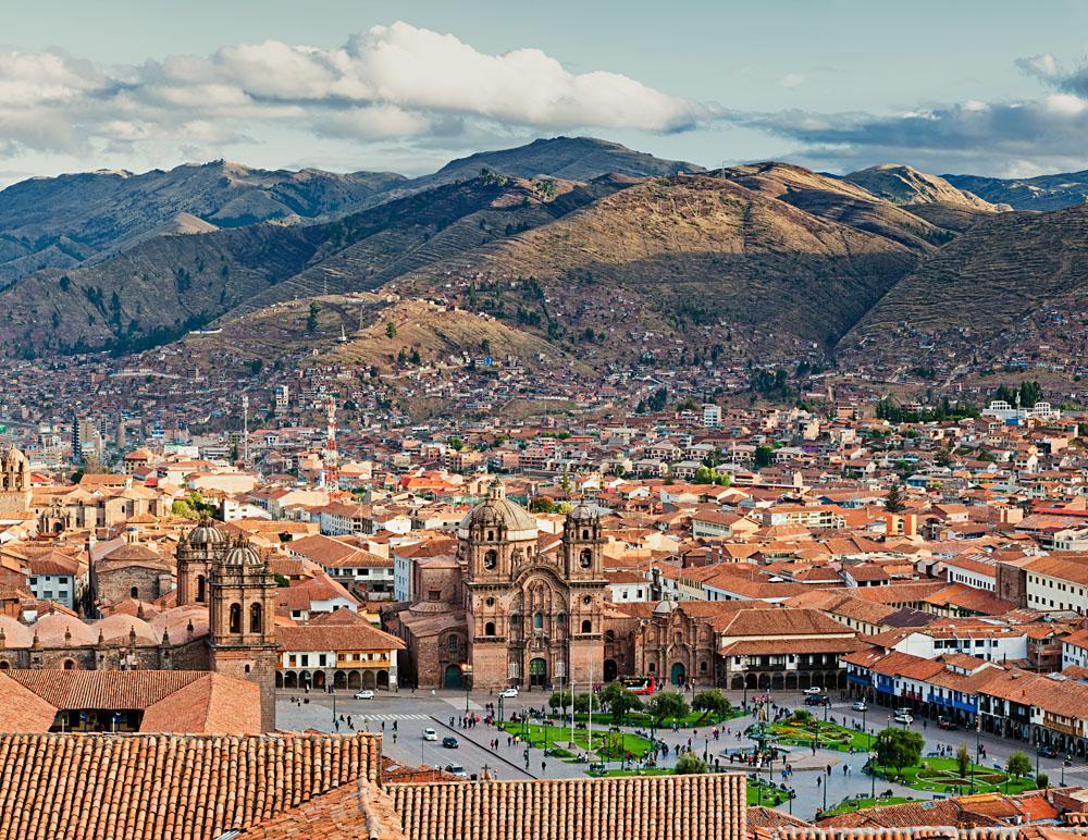 The city of Cusco, Peru