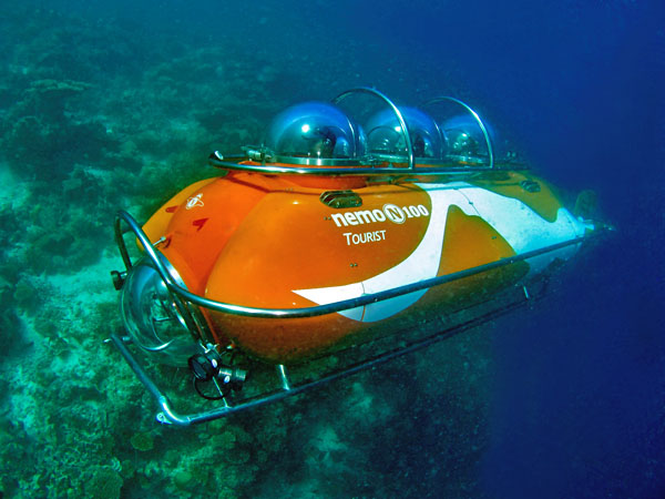 Conrad Maldives - Nemo Submarine, Maldives