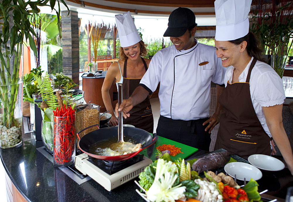 Cooking School at the Anantara Resorts, Maldives