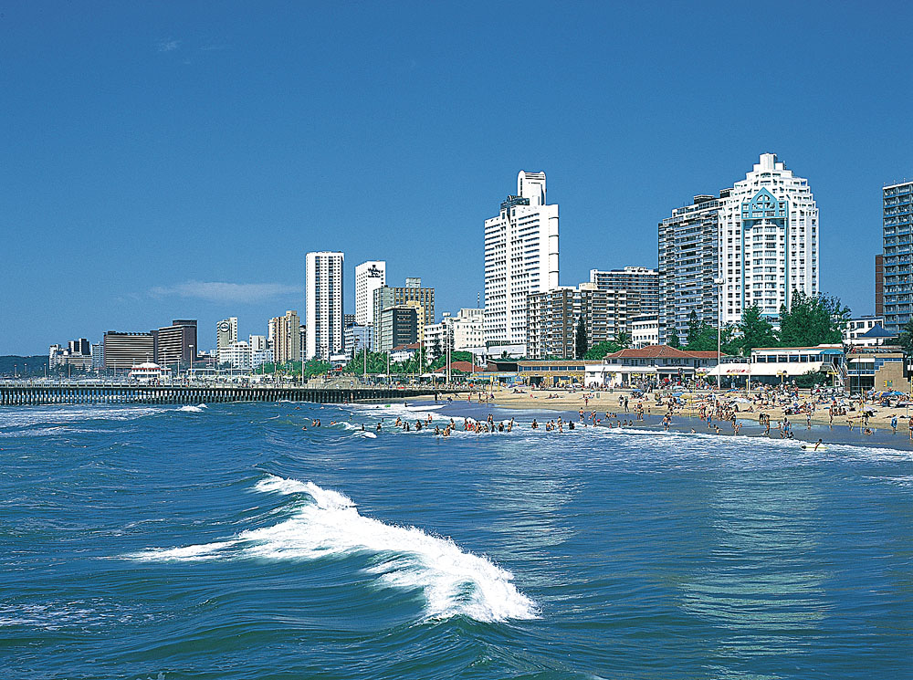 Durban Beachfront, KwaZulu Natal, South Africa