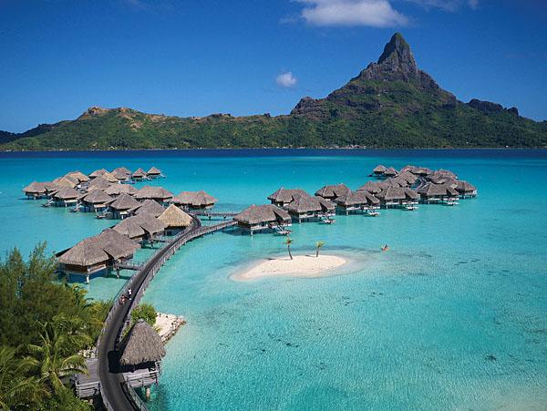 Intercontinental Bora Bora Overwater Bungalows, Tahiti