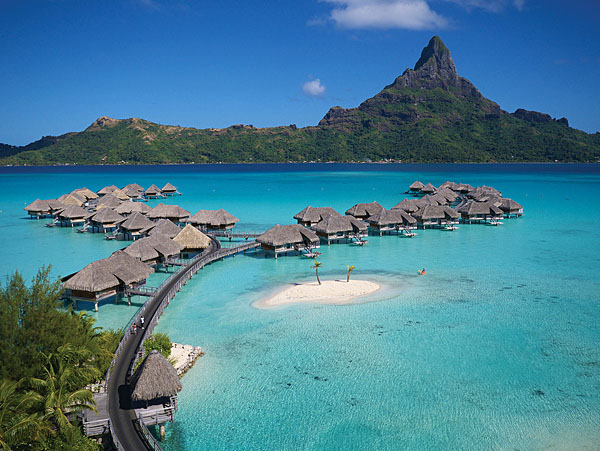 Intercontinental Bora Bora Overwater Bungalows, Tahiti