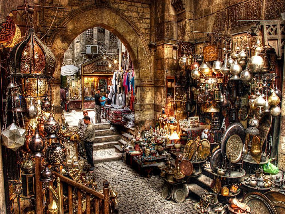 Khan el Khalili Market in Cairo