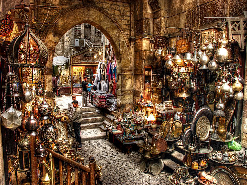 Khan el Khalili Market, Cairo, Egypt