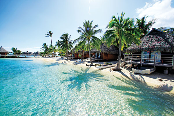 Overwater Beach Or Garden Bungalow In Tahiti Goway