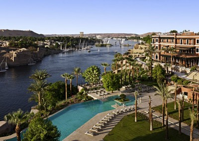Old Cataract Hotel in Aswan