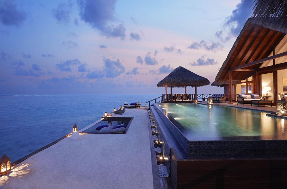 Overwater Bungalow - Taj Exotica Maldives - The Rehendi Presidential Suite