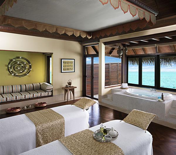 Overwater Spa, Taj Exotica, Maldives