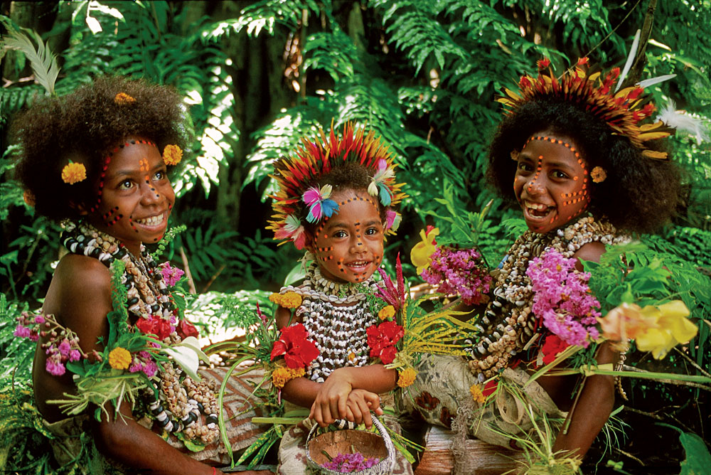 The friendly smiles of Papua New Guinea's locals