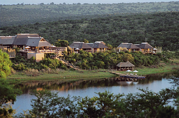 Wilderness surrounds the Pumba Private Game Reserve