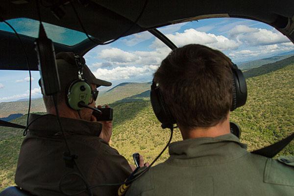 On board a ZAP Wing flight