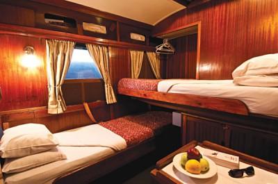 Shongololo's Gold class cabin