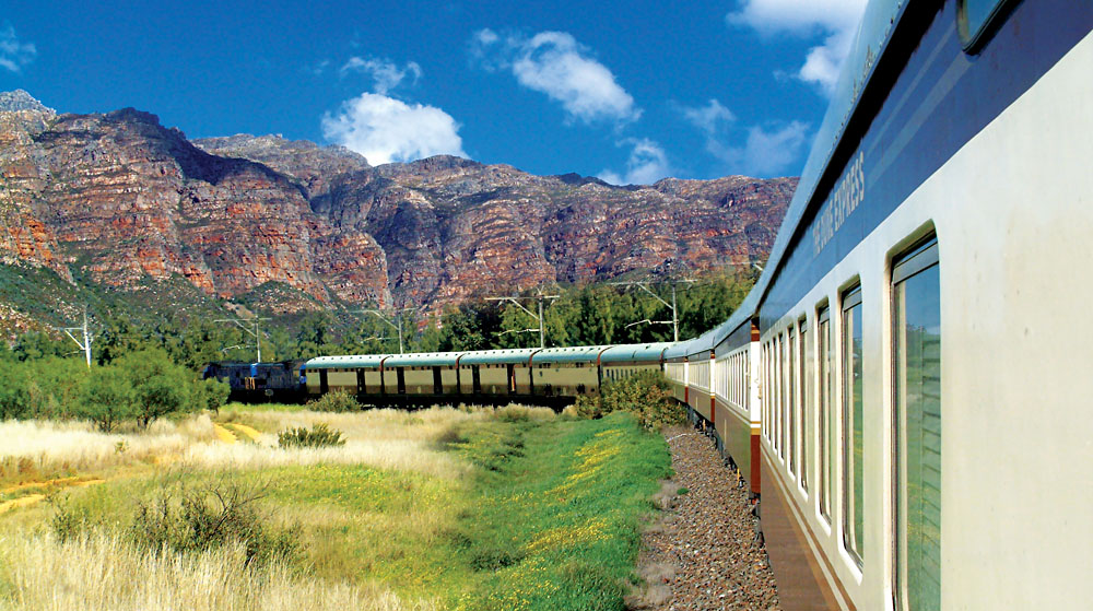 Shongololo Express train