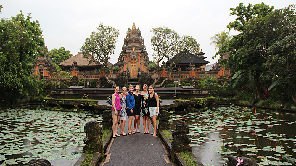 Bronwyn and Group of Women in Bali, Indonesia 2