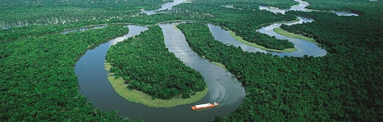 Mighty Amazon River and Jungle, South America