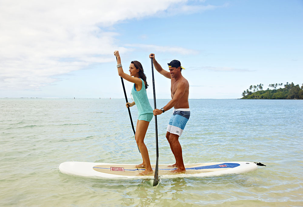 Stand Up Paddleboarding, Cook Islands