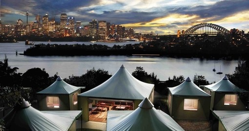 Camps at Sydney's Taronga Zoo