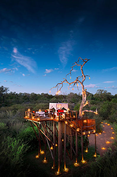 Chalkey's Treehouse, Lion Sands Game Reserve, Sabi Sands, South Africa