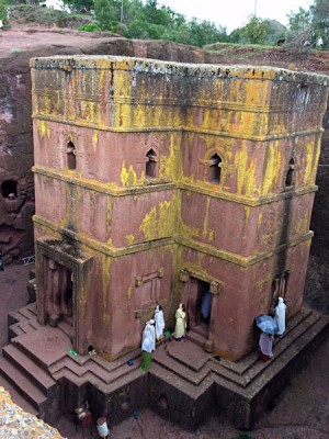 Church of St George in Lalibela