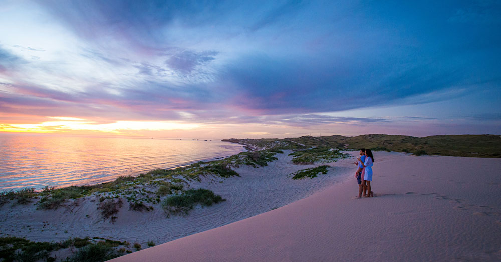 Coral Bay at Sunset | © Tourism Western Australia