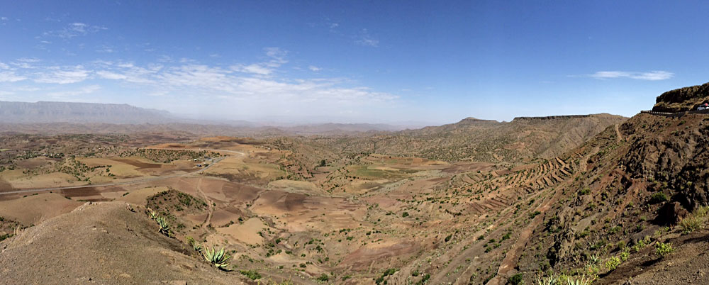 The drive to Lalibela