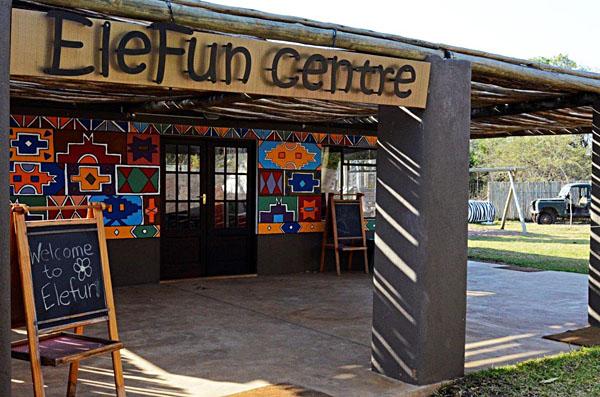 EleFun Centre at Sabi Sabi Bush Lodge, Kruger National Park, South Africa