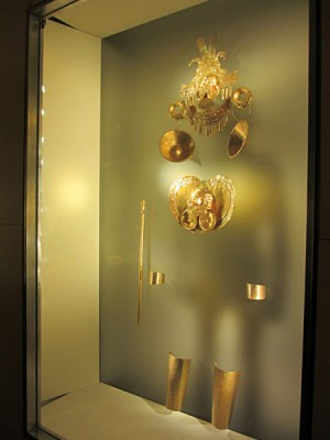 Relics in the Gold Museum, Bogota