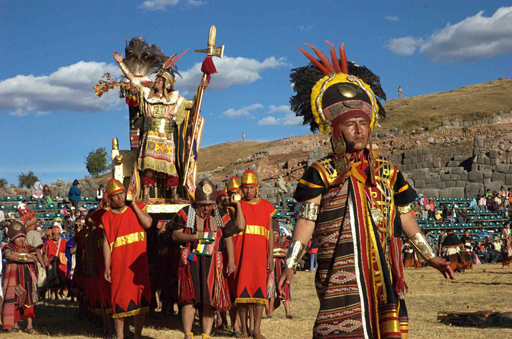 Inti Raymi Inca Sun Festival is held annually on June 24 in Sacsahuayman