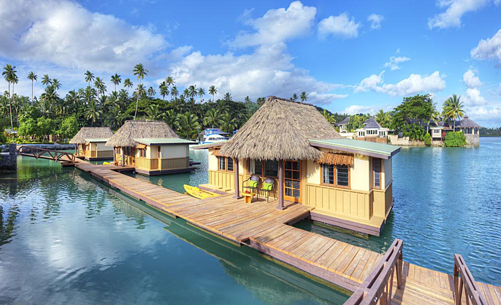 Koro Sun Resort - Edgewater Floating Bure Exterior, Fiji